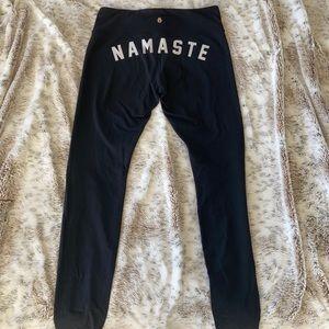 Spiritual Gangster Namaste Leggings